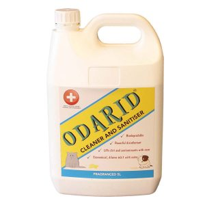 Cleaner and Sanitiser – Fragranced – 5L