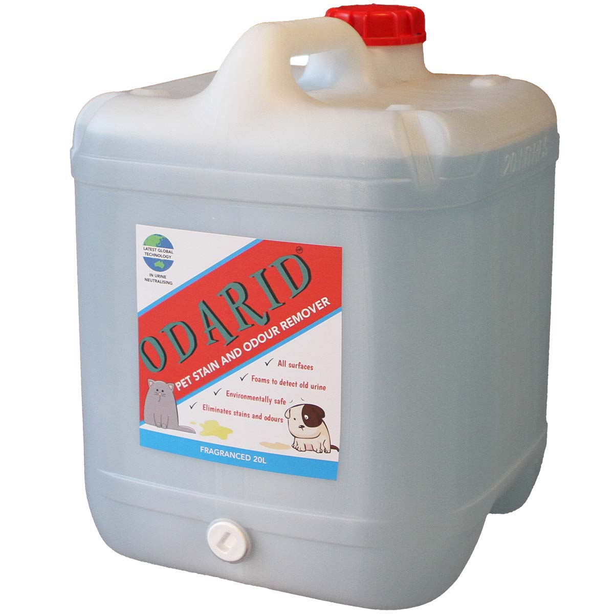 Pet Stain And Odour Remover Fragranced 20l Odarid